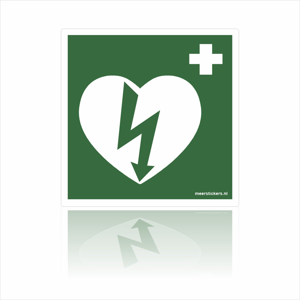 AED pictogram Stickers
