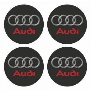 Wielnaaf stickers Audi