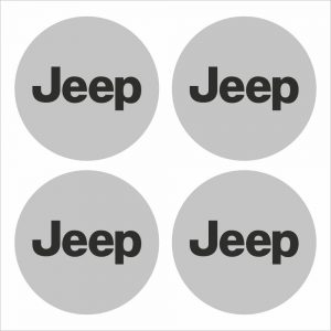 Wielnaaf stickers Jeep