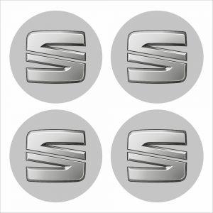 Wielnaaf stickers Seat