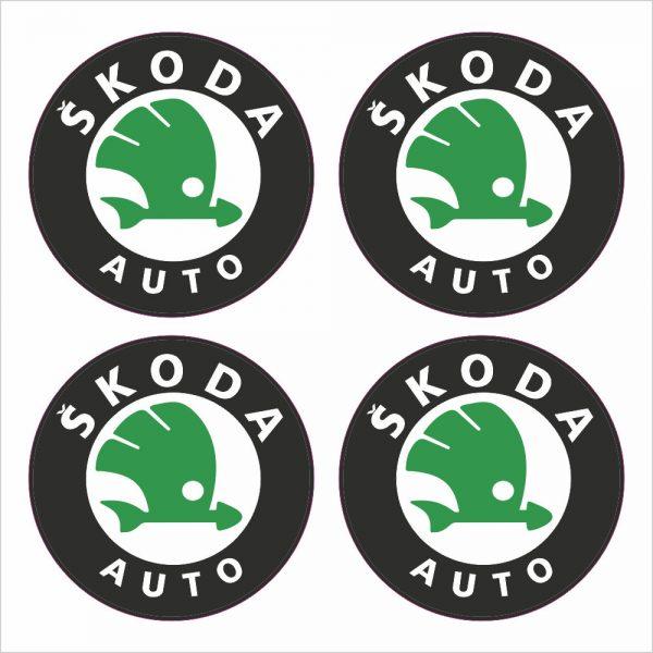 Wielnaaf stickers Skoda