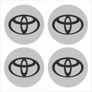 Wielnaaf stickers Toyota
