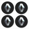 Wielnaaf stickers Renault Zwart